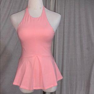 Nwot Victoria's Secret Pink halter top Sz Xs